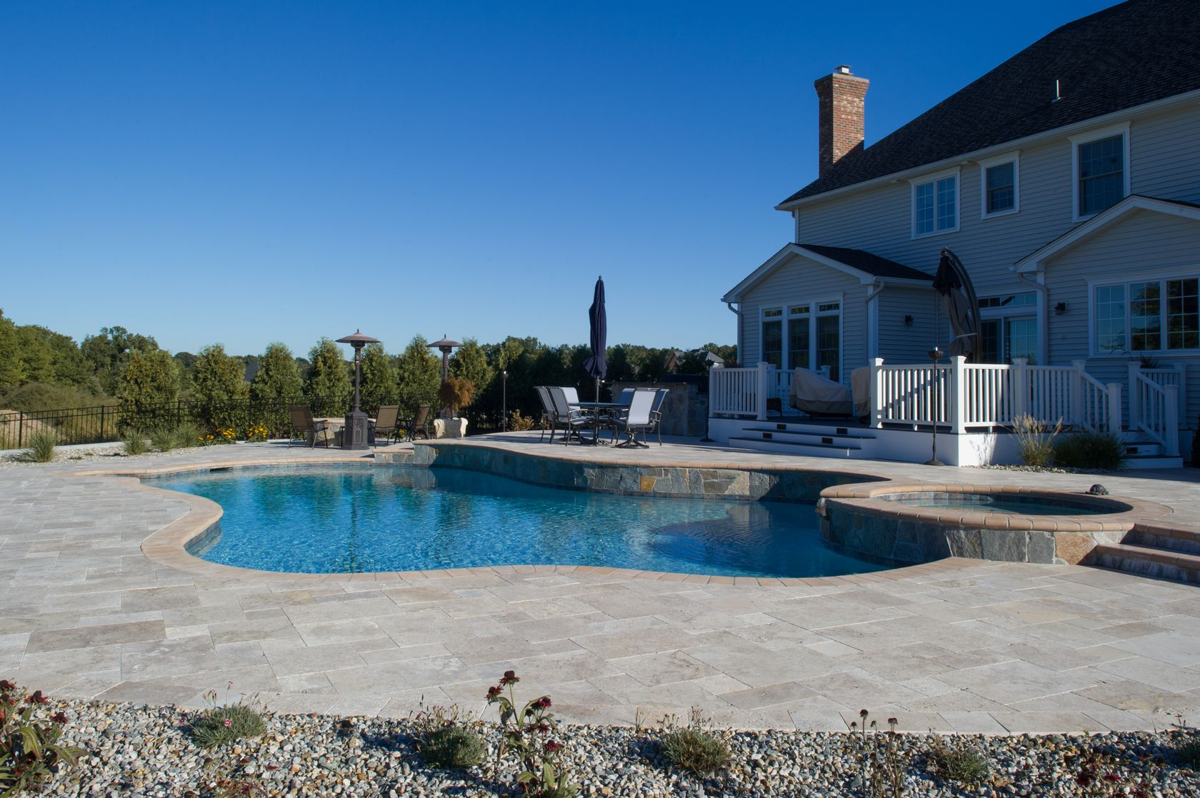 Inground pools ct gunite pools ct pools by murphy solutioingenieria Image collections